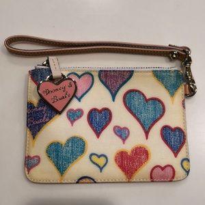 Dooney & Bourke Heart Wristlet